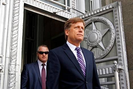 Myös amerikkalaistutkija, Venäjä-asiantuntija  Michael McFaul on joutunut Putinin mustalle listalle.