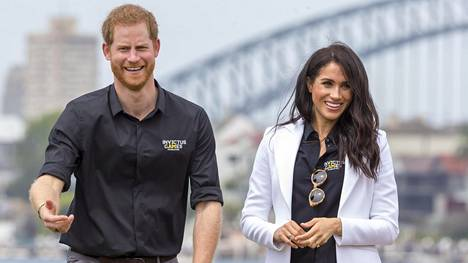 Prinssi Harry ja herttuatar Meghan vierailivat Australiassa.