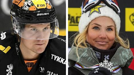 Aleksander Bonsaksen ja Silje Norendal jakoivat iloisia uutisia.