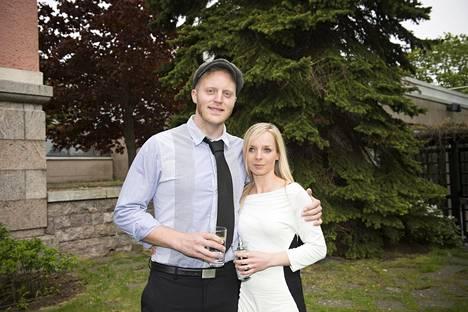 Koop ja hänen vaimonsa Cordelia vuonna 2015.