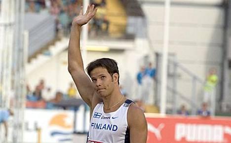 Tero Pitkämäki pärjäsi ulkomailla keihäänheiton lisäksi myös äänestyksissä.