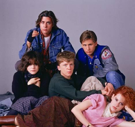 80-luvun rakastetuin teinileffa Breakfast Club.