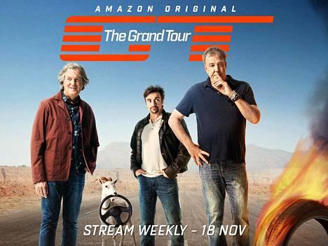 The Grand Touria esitetään suoratoistopalvelu Amazon Primessa.