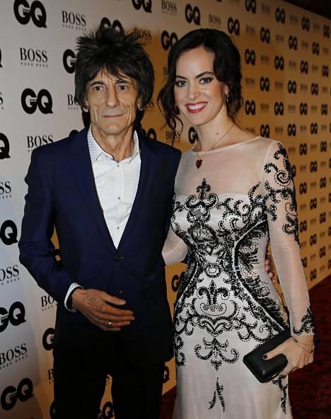 Ronnie ja Sally kuvattuina syyskuussa 2015.