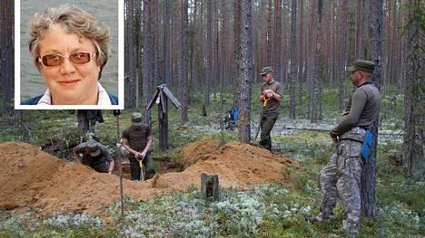 Petroskoin yliopiston historian dosentti Irina Takala pitää mahdollisena, että Sandarmohista ylös kaivetut viiden ihmisen jäänteet saattavat kuulua entisille Suomen vankeina olleille neuvostosotilaille.