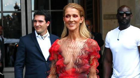 Céline Dion kuvattuna heinäkuun alussa.