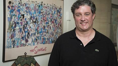 Al Jean on käsikirjoittanut Simpsoneita sarjan vuoden 1989 alkamisesta lähtien – muutamia taukovuosia lukuun ottamatta. Kuva on vuodelta 2014, jolloin Simpsonit-sarja täytti 25 vuotta.