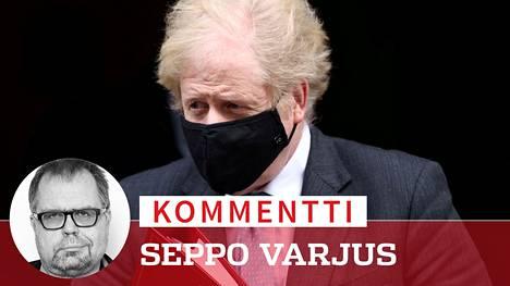 Pääministeri Boris Johnsonilla on nyt muitakin pulmia kuin koronavirus. Maan vienti romahti.