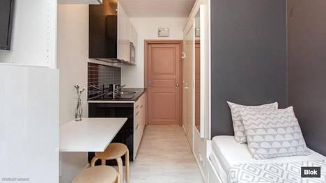 Minikodit ovat olleet viime vuosina paljon esillä julkisuudessa. Suomen pienin myytävänä oleva asunto on 13,5 neliötä.