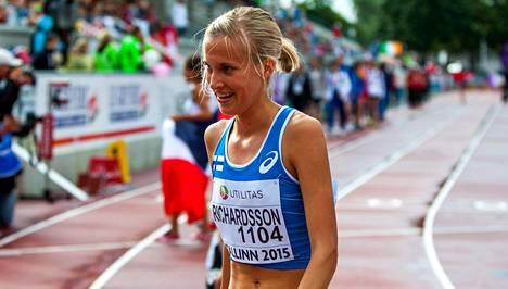 Camilla Richardson pani ennätyksensä uusiksi.