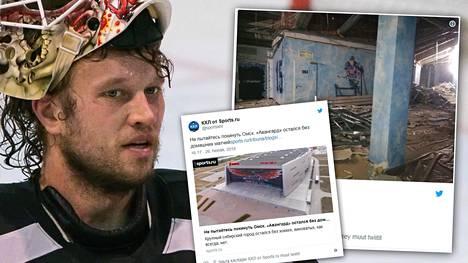 """Taas rakennusfarssi Venäjällä! Vuonna 2007 valmistunut jäähalli sortumisvaarassa, KHL-seura joutuu evakkoon – """"Järkytys"""""""