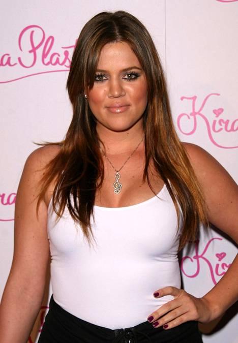 Khloé Kardashian vuonna 2008.
