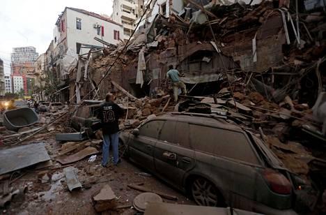 Räjähdykset saivat aikaan valtavaa tuhoa.