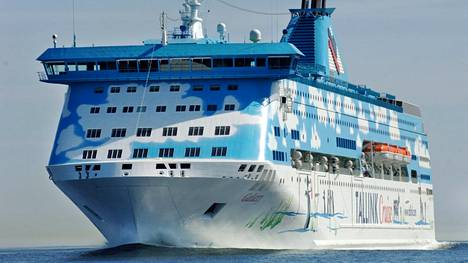 Mies katosi Tallink Siljan risteilijältä.