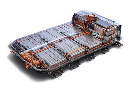 Sähköauton akusto on tyypillisesti sijoitettu auton korin alaosiin.