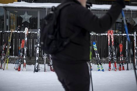 Levillä riitti hiihtolomalla suomalaisia lomailijoita.