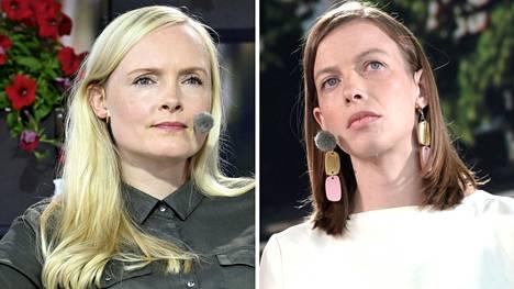 Maria Ohisalo ja Li Andersson eivät innostu etäopetuksen käytöstä rajoituskeinona.