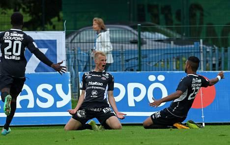 FC Lahden Mikko Kuningas teki sunnuntaina liigauransa ensimmäisen maalin.