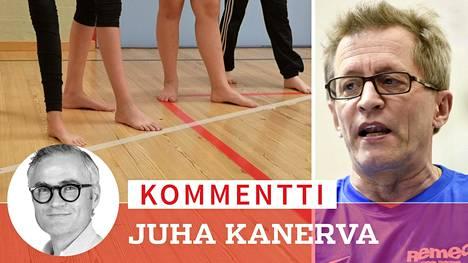 Ari Pelkonen on opettanut liikuntaa 37 vuotta ja toiminut pitkään Suomen squashliiton valmennustehtävissä.