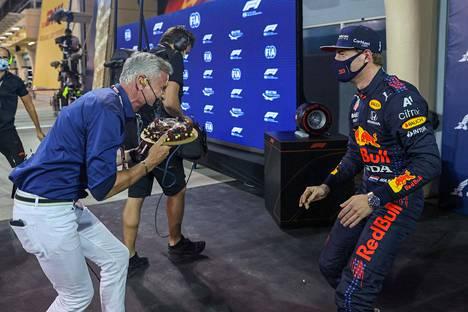 Olisi pitänyt arvata! David Coulthard tuntee Max Verstappenin temput, mutta tuli silti yllätetyksi.