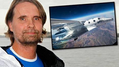 Vesa Heilala osti vuonna 2010 lentolipun avaruuteen. Seitsemän vuotta myöhemmin hän odottaa yhä matkan toteutumista.