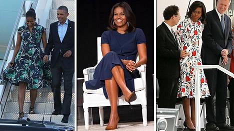 Michelle Obaman asut ovat simppelin klassisia, mutta niissä on oma twistinsä.