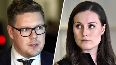IS kävi läpi ryhmäjohtaja Antti Lindtmanin  (sd) ja liikenneministeri Sanna Marinin (sd) vaalikonevastaukset.