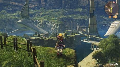 Kuvat eivät tee oikeutta sille, miten pieneksi pelissä tuntee itsensä. Uudessa Switch-versiossa ulkoasu on päivitetty entistäkin näyttävämmäksi.
