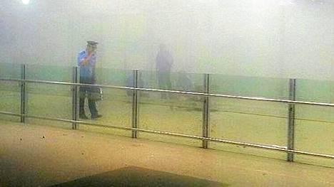 Pekingin kansainvälisellä lentokentällä on tapahtunut voimakas räjähdys.