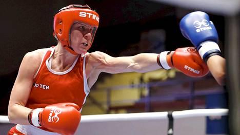 Mira Potkonen taipui MM-puolivälierässä – mitali jäi haaveeksi
