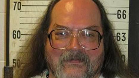 Billy Ray Irick ennen kuolemanrangaistuksensa täytäntöönpanoa.