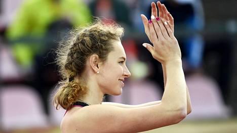 Ella Junnila saavutti korkeudenhypyssä nuorten EM-pronssia.