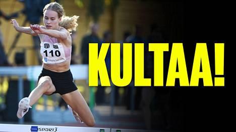 Heidi Salminen voitti 400 metrin MM-kultaa yleisurheilun 19-vuotiaiden MM-kilpailuissa Kenian Nairobissa.