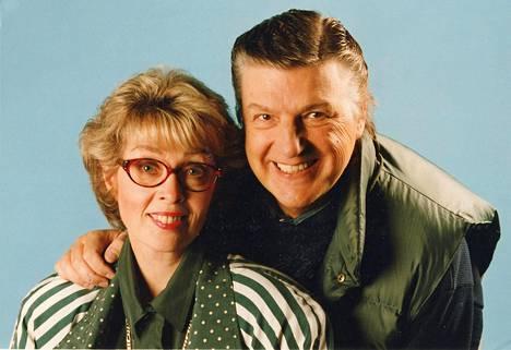 Arja Tuomarila ja Kai Lind vuonna 1994.