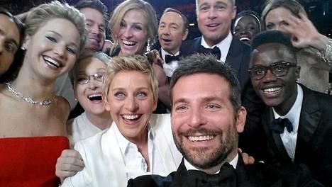 Ellenin kuuluisa selfie.