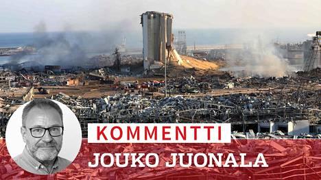 Beirutin tuhoisa räjähdys repi raunioiksi kaupungin tärkeän sataman ja aiheutti laajaa tuhoa ympäristössä.