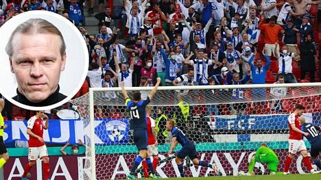Marko Rajamäellä on painavaa asiaa Tanska-ottelusta.
