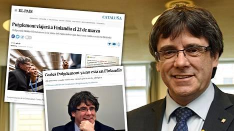 Finlandia päätyi espanjalaislehtiin meneillään olevan Katalonian ja Espanjan keskushallinnon kriisin takia.