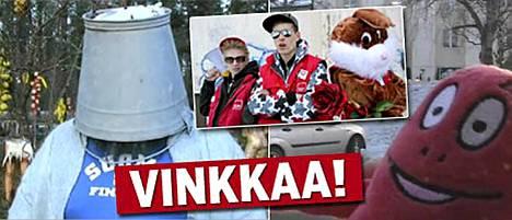 Kari Tykkyläinen, Pekka Tuuri ja Paavo J. Heinonen ovat tehneet vaalivideot YouTubeen.