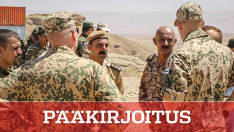 Suomalaisjoukot toimivat Irakissa Yhdysvaltain johtamassa OIR-operaatiossa koulutustehtävissä.