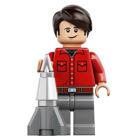 Howie Lego-hahmona.