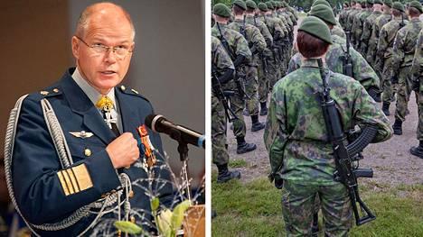 Mikäli lakiuudistus toteutuu, reserviläinen voidaan palkata Puolustusvoimiin antamaan pyynnöstä virka-apua joko kotimaiselle tai ulkomaiselle viranomaiselle, sanoi kenraali Jarmo Lindberg Lappeenrannassa sunnuntaina.