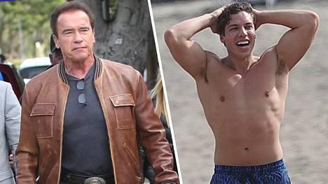 Arnold Schwarzenegger on ylpeä pojastaan Joseph Baenasta.