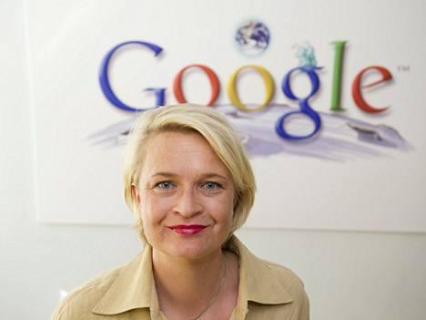 Googlen maajohtaja Anni Ronkainen kehuu ruotsalaisten markkinointitaitoja.