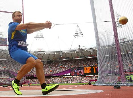 Aleksei Sokirski edusti Ukrainaa Lontoon olympialaissa 2012.