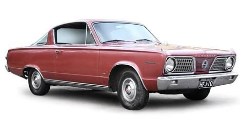 Plymouth Barraduca, vm. 1966. Tulevasta Barracudasta kaavaillaan kaksiovista avoautoa.