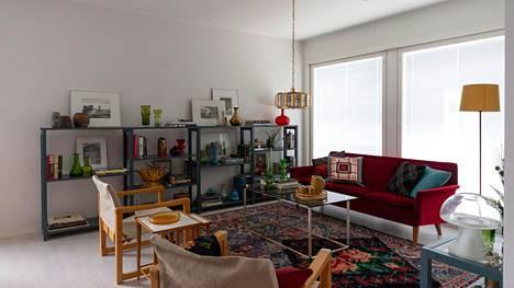 Tässä on asuntomessujen tavallisin koti - upea sisustus kierrätyskontin löydöillä