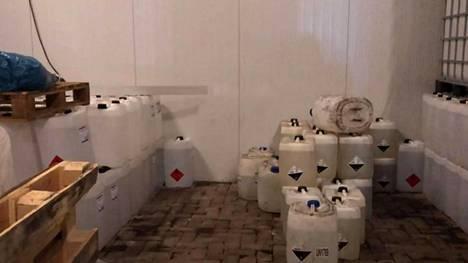 Laboratoriossa oli mahdollista valmistaa jopa 200 kiloa kokaiinia päivässä.
