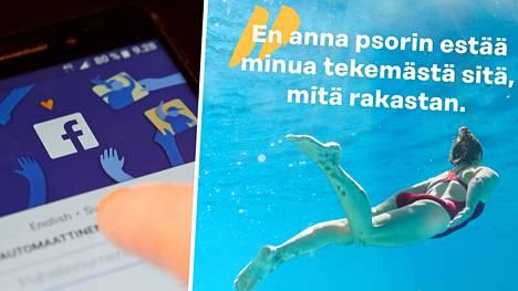 Liiton sivut on poistettu Facebookista kokonaan uimapukukuvan vuoksi.