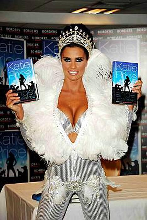 Jordan eli Katie Price tienaa omaisuuksia kirjoilla, joita ei kirjoita.